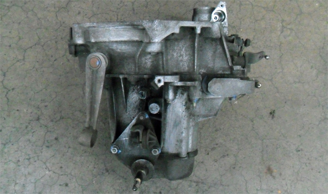 Top view of a gearbox spare part